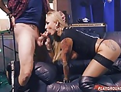 Tattooed Intriguer Fucked Doggy
