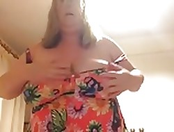 BBW wed strips retire from the brush swimsuit