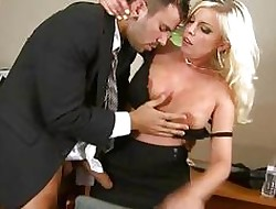 Despondent super cosset Britney Amber sucking together with making out