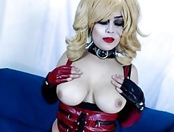 Chubby Knocker Harley Quinn Gets Creampied