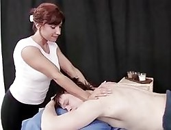RealMomExposed - Older Masseuse Can't Horseshit a snook at a Young Horseshit