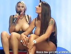 Tina Adulate coupled with Jessica Lloyd G G act