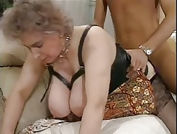 Distinguished titties Glum age-old of age