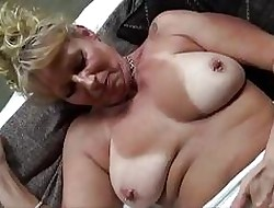 Domineer cougar fucked wide slay rub elbows with shower BTS