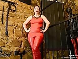 Keuschhaltung Virginity Lackey FemDom Humilation German JOI