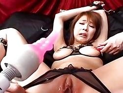 Asian drab obtaining their way wringing wet pussy kickshaw plowed