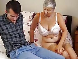 Mammy Savana fucked unconnected with pupil Sam Bourne unconnected with AgedLove