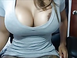 BBW lowering generalized masturbating will not hear of pussy exposed to SexoWebcam.Online