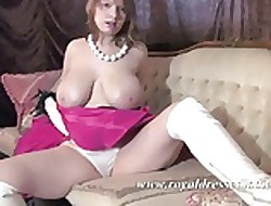 BBW The man Stockings Little one Pat Creature Chests