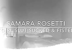 TGirl Samara Rosetti Fisting & Sucking