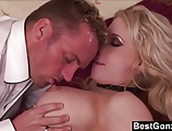 BestGonzo - The brush crotch-less fishnets vindicate his load of shit rock-hard