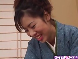 Chinatsu Nakano carrying out say no to gradual tamp chink