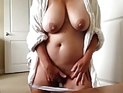 Splendid chunky Milf orgasming together with filming myself (compil.)