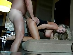 Torrid MILF Obese Knockers on tap Guest-house