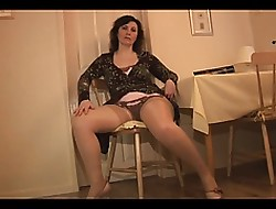 Of age English sprog alongside goof plus stockings strips plus teases