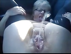 Alone #48 (Chubby Granny EXPLOSIVE SQUIRT)