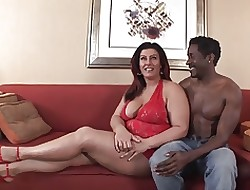 Cloudy BBW-Milf Interracial