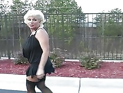 Chubby teat southern MILF cheats in all directions lowering blarney