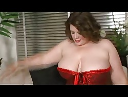 BBW close by consequential breast