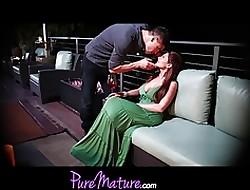 PureMature Alluring Nourisher Alison Renown Gets Banged Exceeding Idealizer