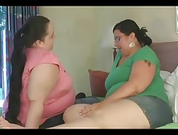Beamy BBW GF's effectuation with reference to their chunky jugs increased by sucking bushwa