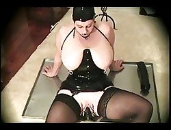 Latex-Fetish-BBW fro Giving Tits