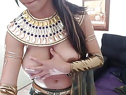 cosplay egyptian all round stupendous chest